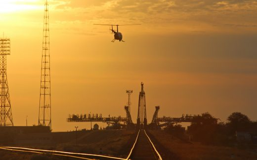 Sunrise at Gagarins Launch pad