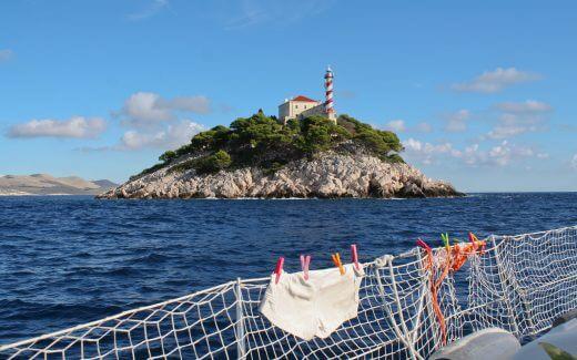 Lighthouse at Kornati Archipelago