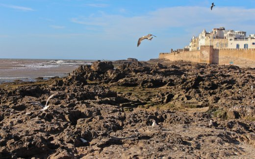 Essaouira at the Atlantic Coast